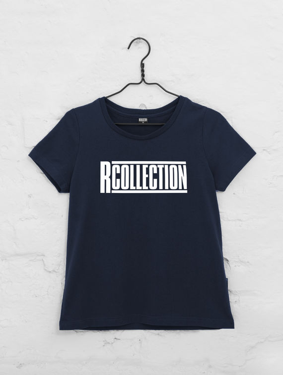 R-Collection Women's T-Shirt white logo