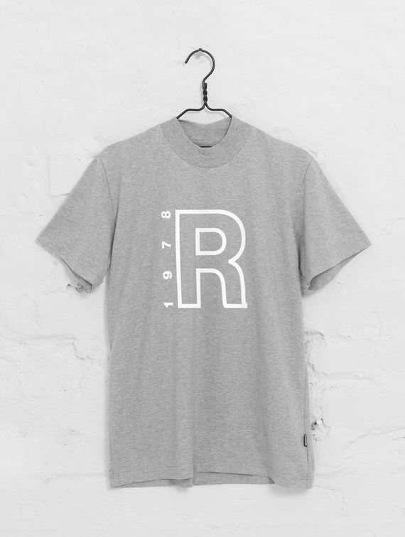 R-Collection High Neck T-Shirt white R