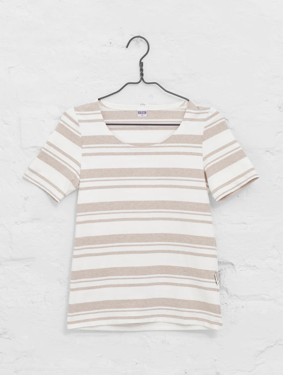 R-Collection Women's Striped T-Shirt