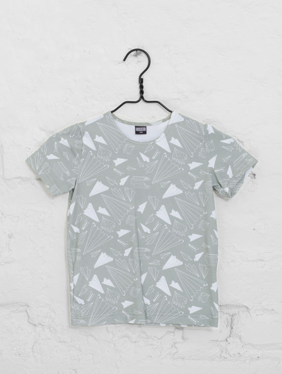 R-Collection Paper Planes T-Shirt
