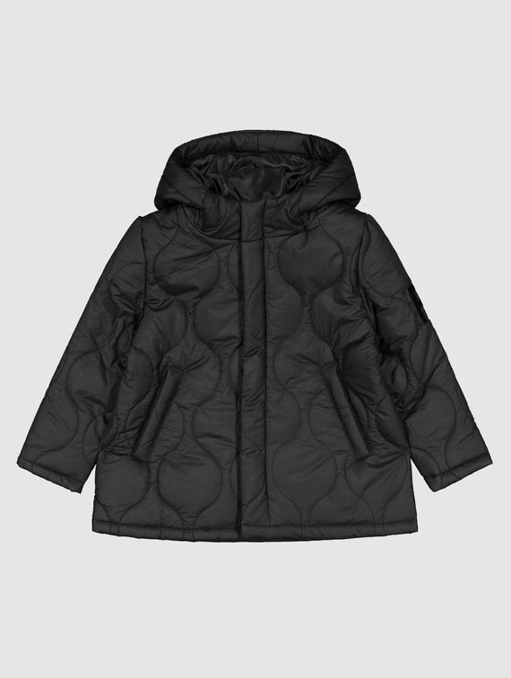 R-Collection Mini Quilted Hood Jacket