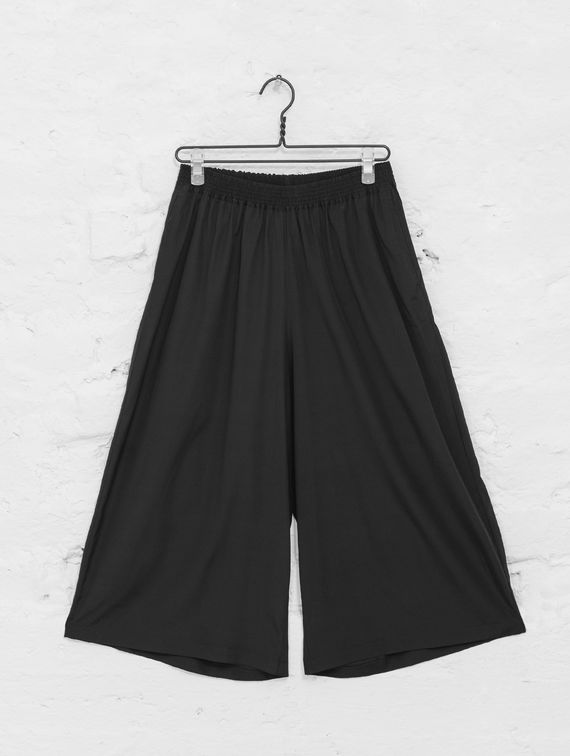 R-Collection Silk Culottes black