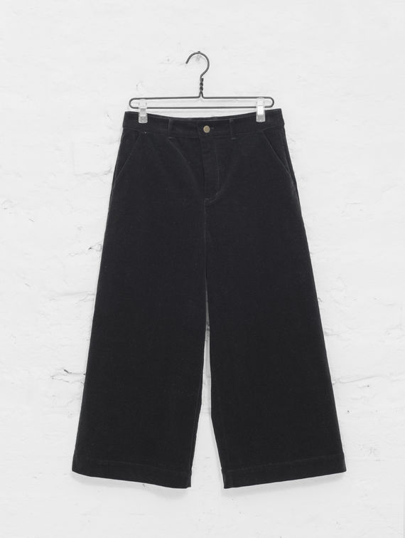 R-Collection Velvet Culottes