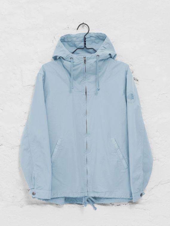 R-Collection Zipper Anorak celestial blue