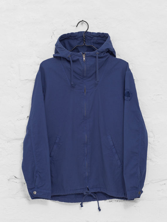 R-Collection Zipper Anorak indigo blue