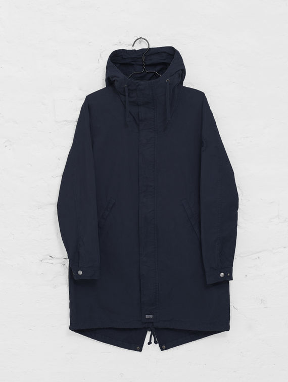 R-Collection Maxi Anorak ink blue
