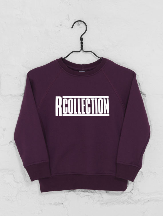 R-Collection Children's Sweatshirt with logo