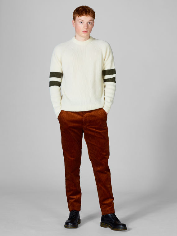 R-Collection Veikko Stripe Knit