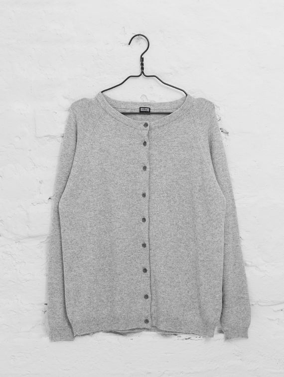 R-Collection Wool Cashmere Cardigan