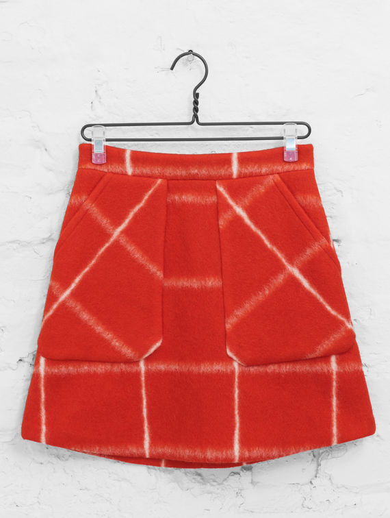 R-Collection Poncho Skirt