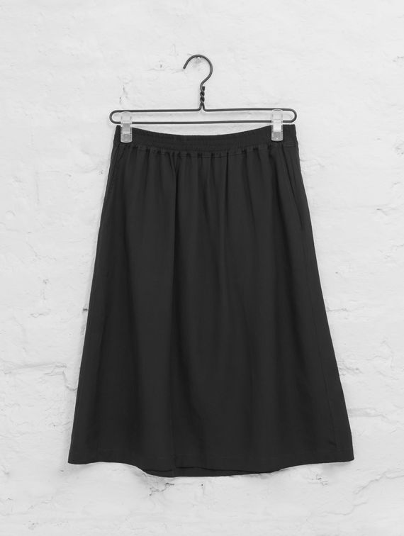 R-Collection Silk Skirt